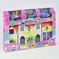 Домик для кукол 8162-2 (18) куколки в наборе, звуковые эффекты, подсветка, в коробке