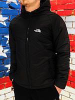 Курточка Ветровка мужская The North Face, весенняя/осенняя, цвет черный