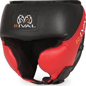 Боксерський шолом RIVAL High Performance S/M, чорний/червоний