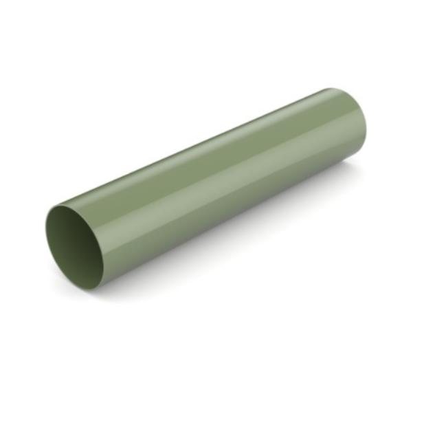 Водостічна труба BRYZA 90мм/3м, Зелений RAL 6020