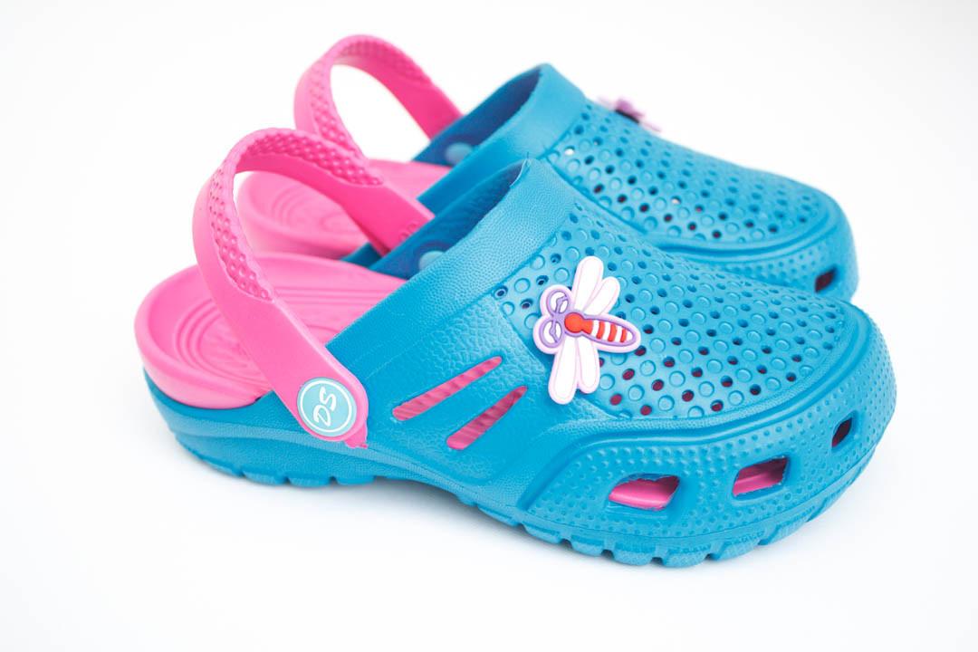 Детские кроксы ( Код: Сабо Crocs бир-малина )