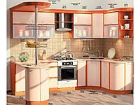 "Кухня Софт ""КХ-68"" (3,0х1,7м)(Комфорт)"