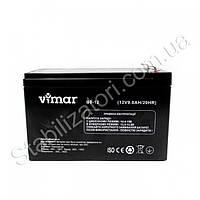 VIMAR B9-12 - 12В - 9 А/ч  - мультигелевый аккумулятор для ИБП, УПС, UPS, ДБЖ, бесперебойника