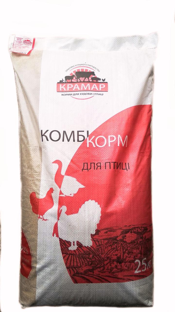 КРАМАР Комбикорм старт ПК-5-4 для цыплят-бройлеров от 1 до 25 дня