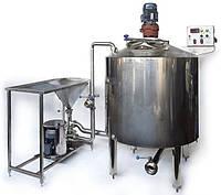 Линия производства згущенного молока