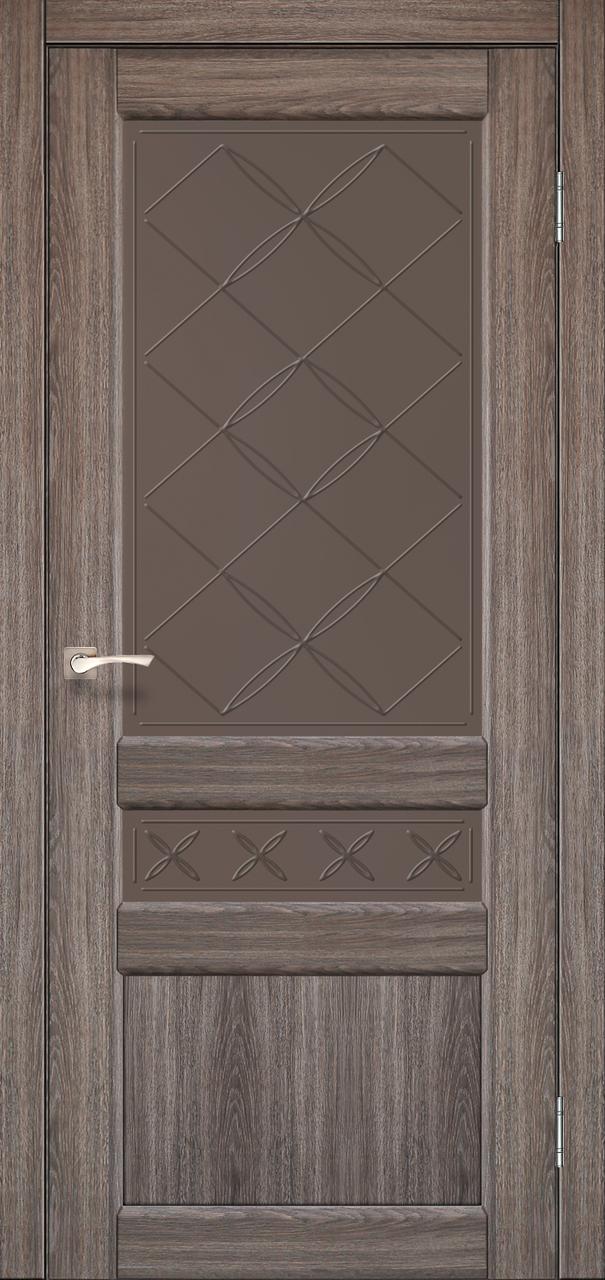 Шпоновані міжкімнатні двері Korfad Classico CL-04