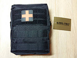 Аптечка Black Large 43 - Piece First Aid Set Leina, Mil - Tec. Німеччина. Новий товар.