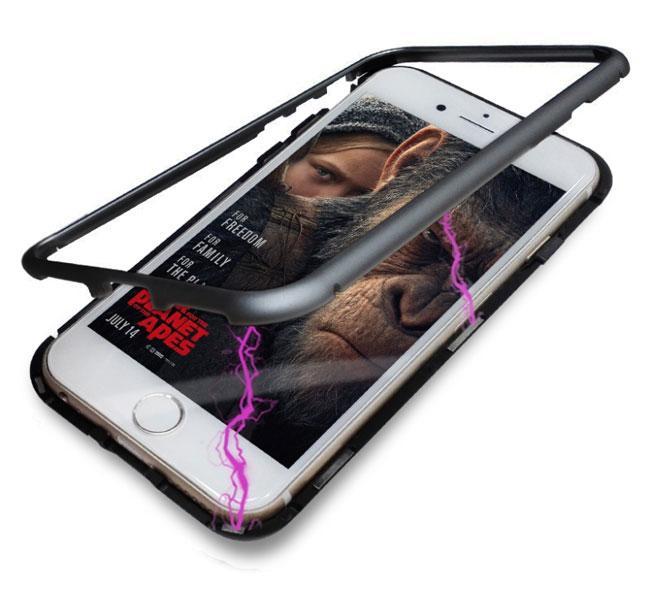 Металлический магнитный чехол Primo для Apple iPhone 6 / 6s - Black