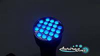 Ультрафиолетовый ручной фонарик 395 нм.  LED фонарик. Светодиодный фонарь., фото 1