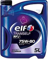 Трансмиссионные масла ELF TRANSELF NFJ 75W-80 5л