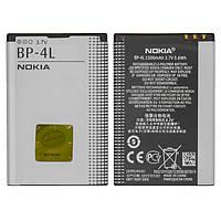 Батарея (акб, аккумулятор) BP-4L для телефонов Nokia, 1500 mAh, оригинал