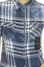 Жіноча сорочка в клітинку  Dolce Gabana, фото 3