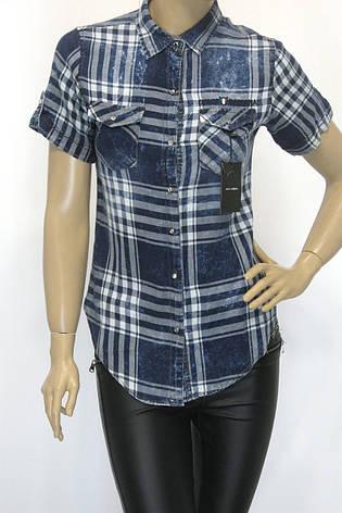 Жіноча сорочка в клітинку  Dolce Gabana, фото 2