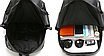 Рюкзак мужской кожзам городской Trend коричневый, фото 5