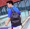 Рюкзак мужской кожзам городской Trend коричневый, фото 2