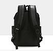 Рюкзак мужской кожзам городской Trend черный, фото 3