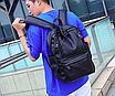 Рюкзак мужской кожзам городской Trend черный, фото 2