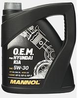 Моторное масло Mannol O.E.M. for Hyundai Kia 5W30 4L