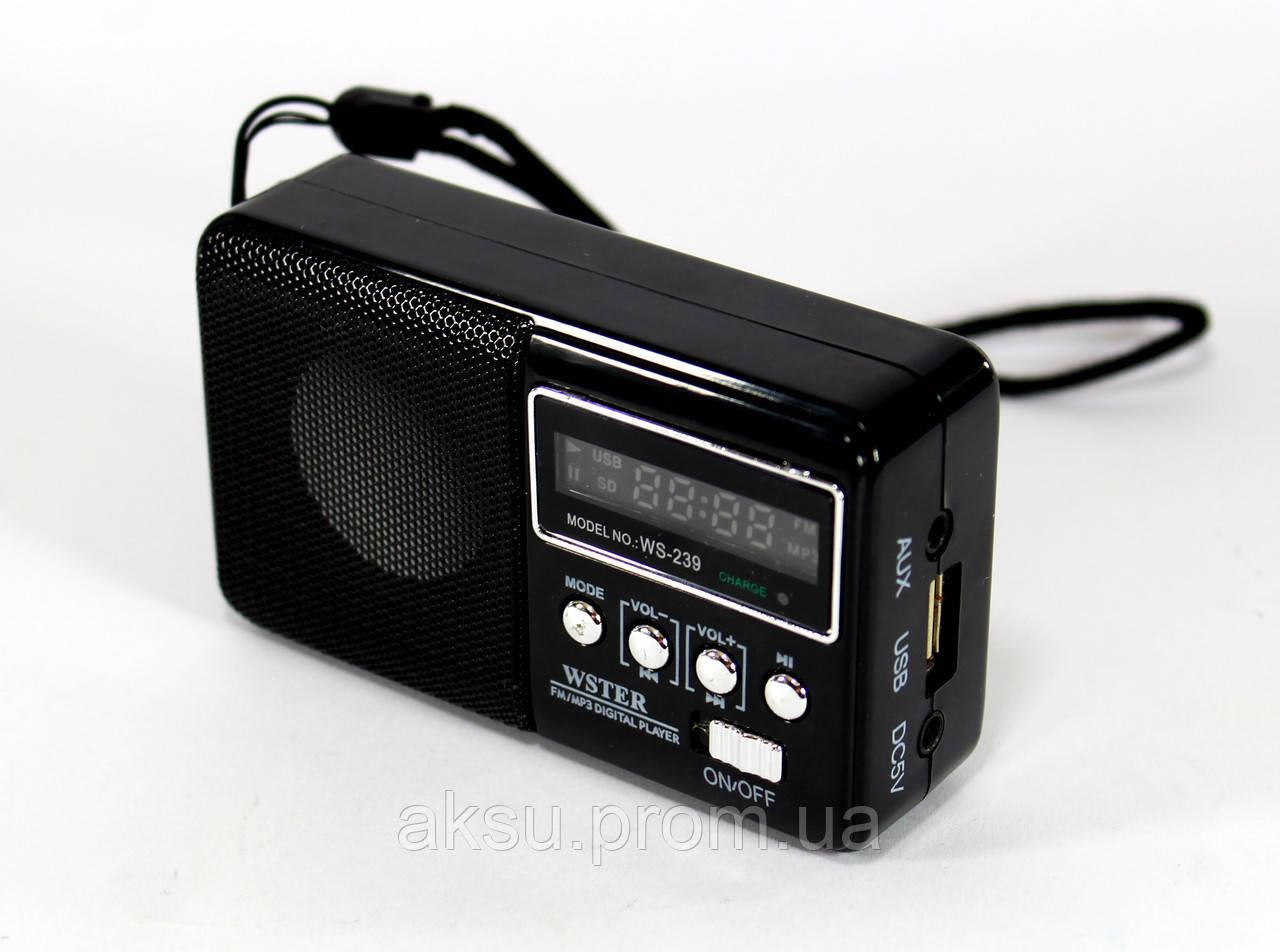 Радиоприемник Колонка с радио 822