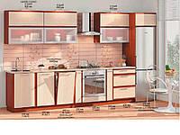 "Кухня Софт ""КХ-73"" (3,63м)(Комфорт)"
