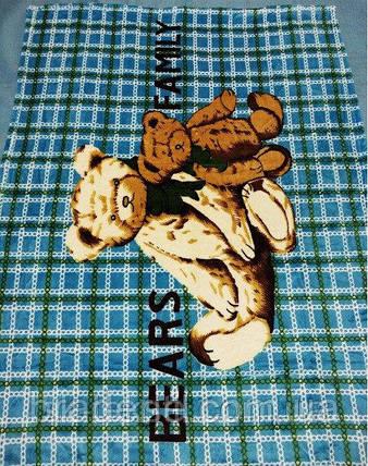 Микрофибровая простынь,покрывало ELWAY 411-1 детский размер (110*140), фото 2