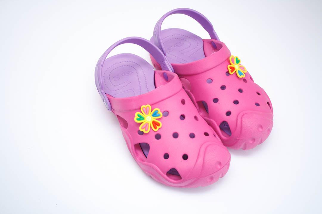 Подростковые кроксы ( Код: Сабо Crocs 2 малина-лилия )
