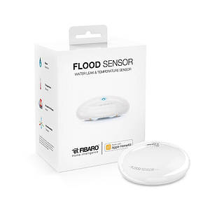 FGBHFS-101 FIBARO Flood Sensor Apple HomeKit, датчик затоплення