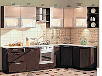 "Кухня Софт ""КХ-75"" (3,0х1,7м)(Комфорт)"