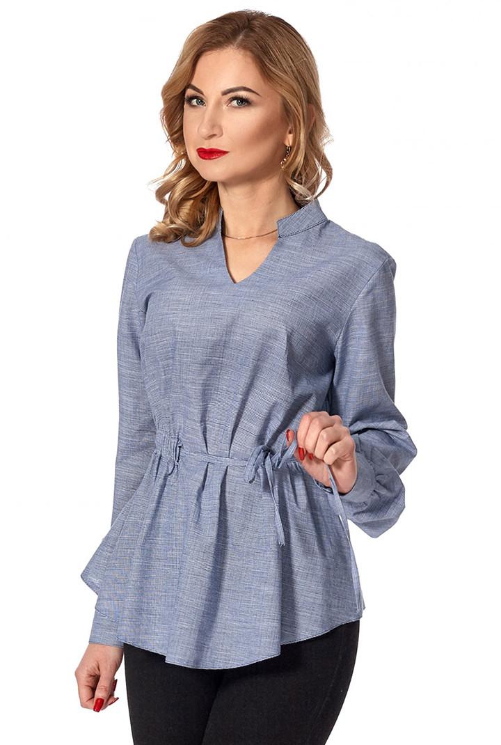 27192c4c261 Женская рубашка серого цвета. Модель 437. Размеры 42-50 - Irse в Одессе