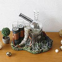 Штоф-бар мисливський кабан, фото 1