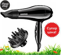 РАСПРОДАЖА! Фен для волос с диффузором GEMEI 103 2200 Вт АС Sensor
