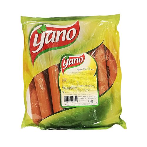 Сосиски курячі Yano 1 кг.