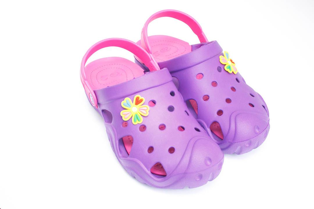 Подростковые кроксы ( Код: Сабо Crocs 2 фиолет-малина )