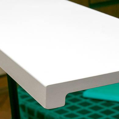 Подоконник Верзалит (Werzalit) цвет снежно белый