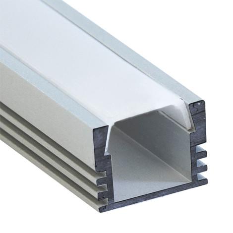 Алюминиевый профиль для светодиодной ленты накладной Feron CAB261 (2 метра)