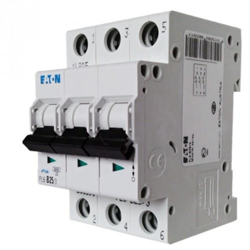 Автоматический выключатель PL4 3p 16A, х-ка С, 4,5кА Eaton | Moeller, 293160
