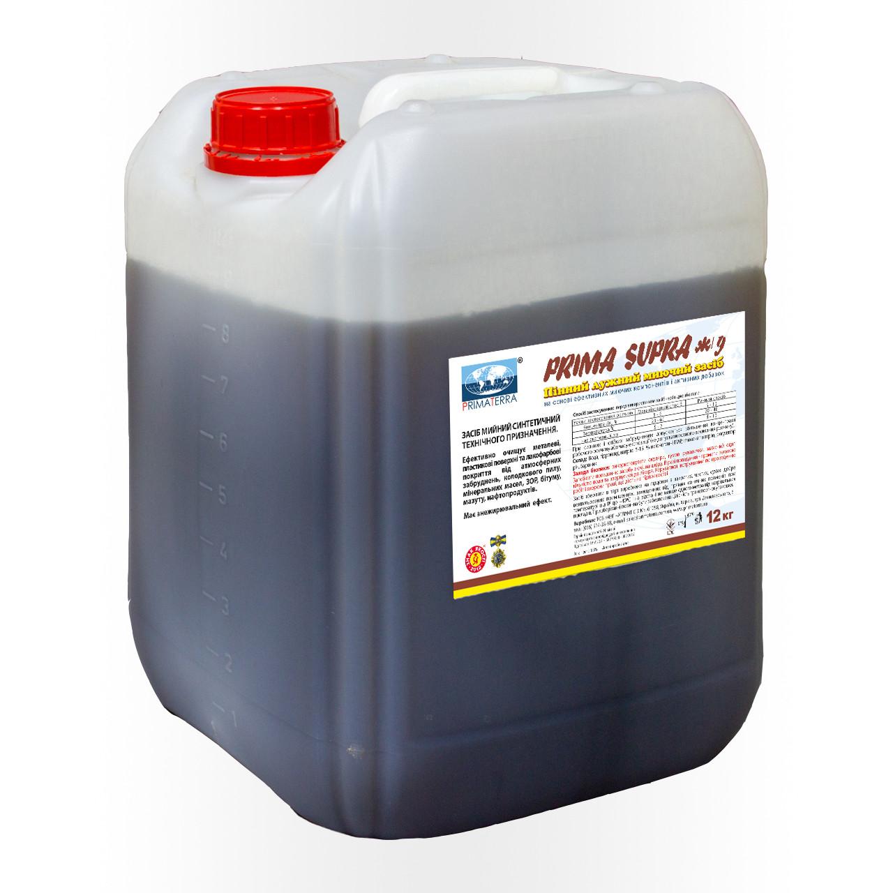 Концентрат для удаления мазут и масляных загрязнений SUPRA жд (12кг)