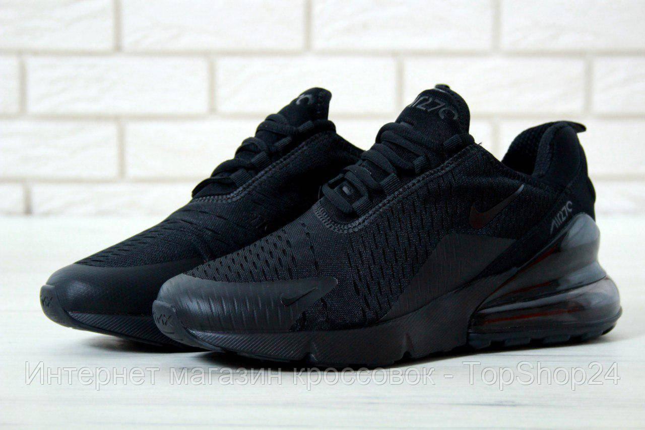 081667d5 Купить Кроссовки мужские Nike Air Max 270 Black (реплика А+++ ...