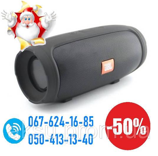 Портативная блютуз колонка JBL mini Charge 3 (Bluetooth, FM, USB, 2 динамика)