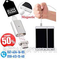 Шнур магнитный для Android Magnetic Micro Зарядное USB Адаптер порт устройство шнур, зарядка Андроид