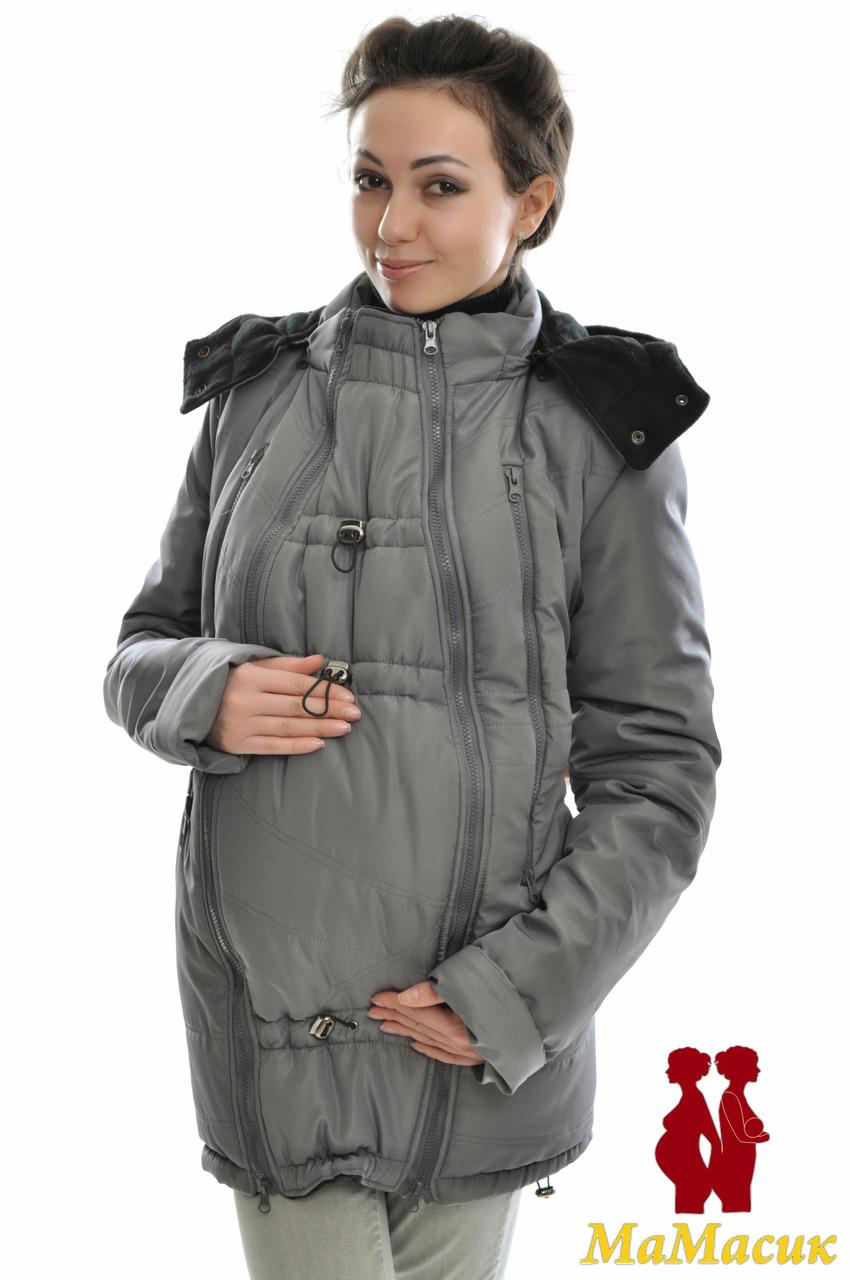 Зимняя куртка для беременных 3 в 1. - HAPPY MAMA - одежда для беременных и 7a4339079bb