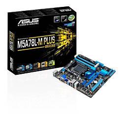 Мат.плата AM3+ (760G) Asus M5A78L-M PLUS/USB3, 760G/SB710, 4xDDR3, Radeon HD 300