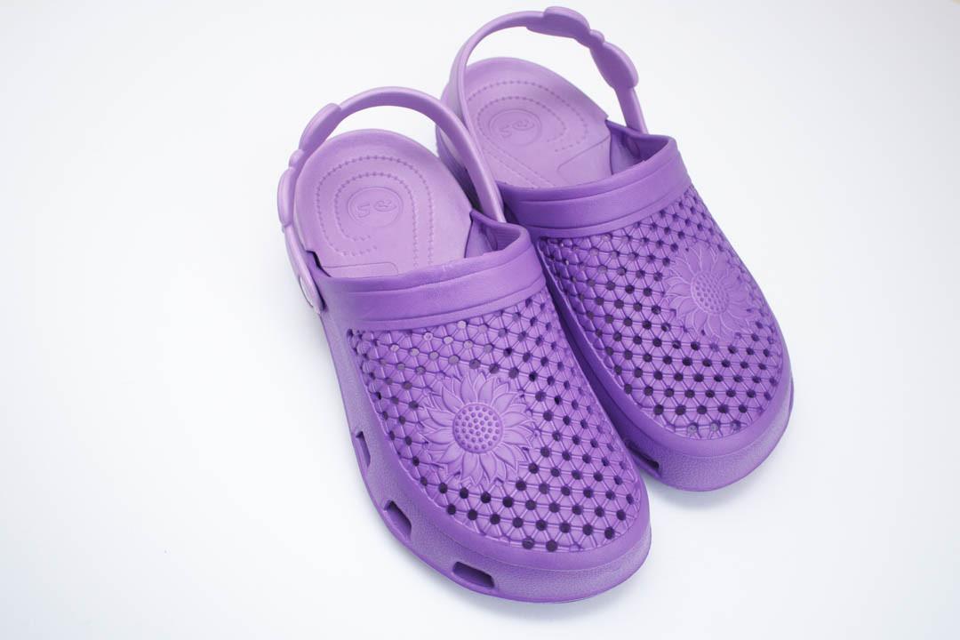 Женские сабо (Код: Сабо Crocs фиолет-лилия )