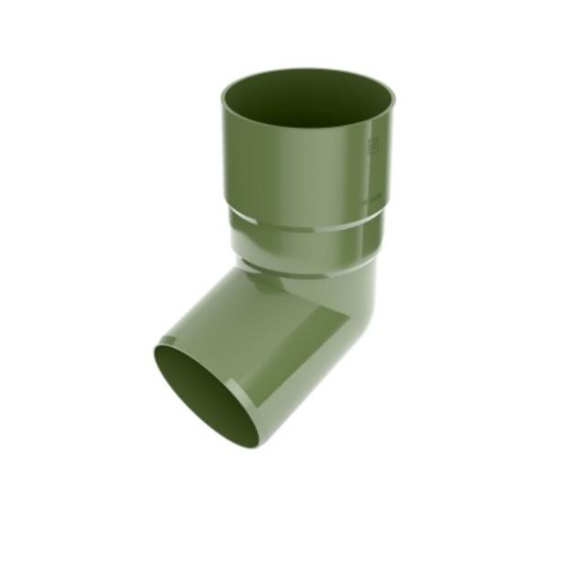 Коліно труби BRYZA 90мм, Зелений RAL 6020