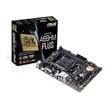 Мат.плата FM2+ (A68H) Asus A68HM-PLUS, A68H, 2xDDR3, Int.Video(CPU), 4xSATA3, 1x