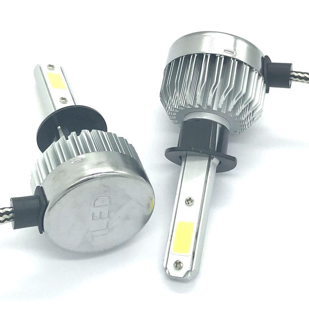 Светодиодная LED лампа головного света H1 Epistar C3 3200Lm 25Watt
