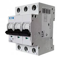 Автоматический выключатель PL4 3p 25A, х-ка С, 4,5кА Eaton, 293162
