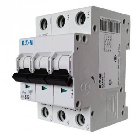 Автоматический выключатель PL4 3p 25A, х-ка С, 4,5кА Eaton, 293162, фото 2