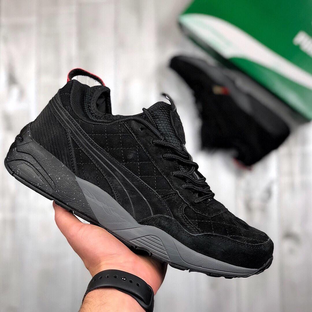 161fe4233 Puma Trinomic Winter Black | мужские кроссовки; черные; зимние; термо; без  меха