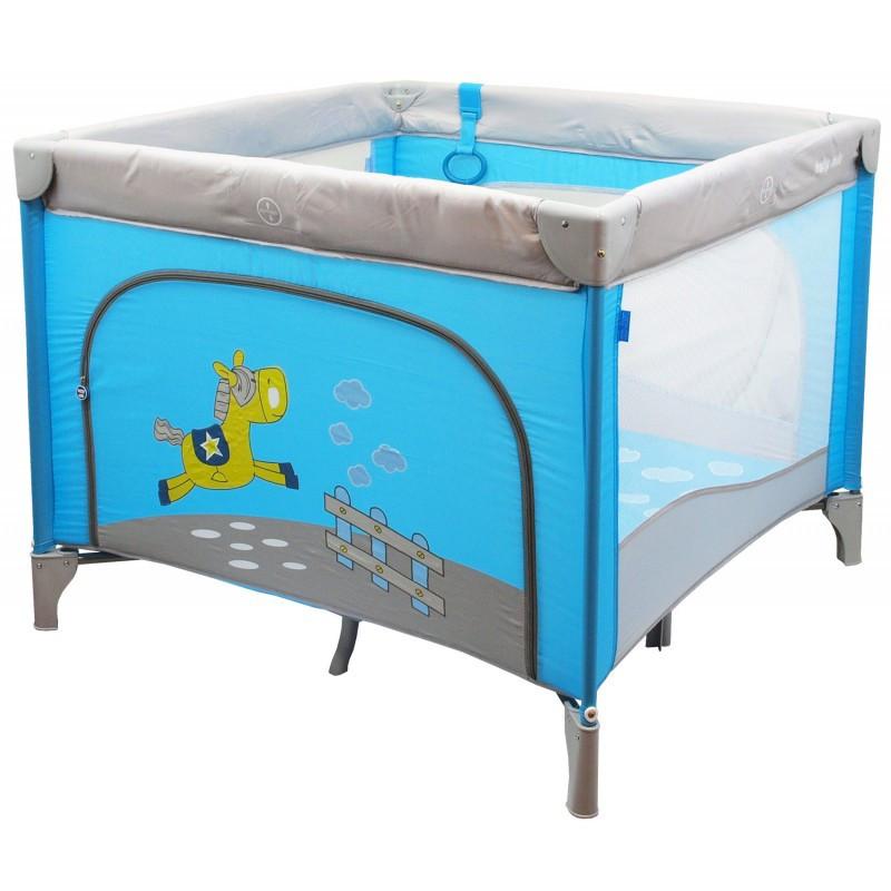 Детский универсальный манеж Baby Mix HR-SQ100 100x100 Blue